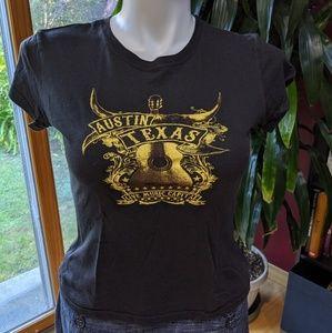 Austin Texas Tee shirt. (Juniors cut) - Size XL